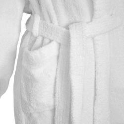 Zoom matière peignoir lavable confort Easytex