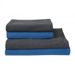 Mix & Match serviettes bleues et grises - gamme éco lavable Easytex