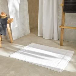 Tapis de bain lavable confort blanc Easytex