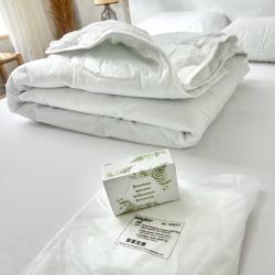 Accueil client - kit de protection housse Confort posé sur matelas
