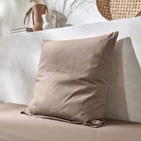 Taie d'oreiller lavable polycoton gamme confort Easytex