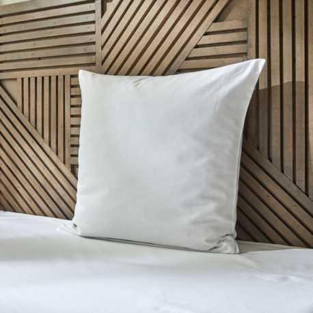 Taie oreiller lavable confort polycoton blanche Easytex