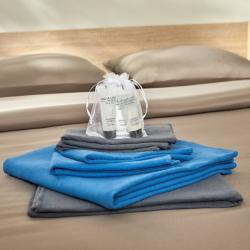 Mix and match serviettes de toilette lavables Eco Easytex